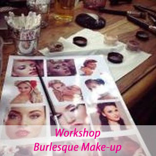 Workshop Burlesque Make-up