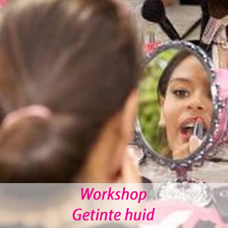 Workshop make-up getinte huid
